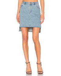 Cheap Monday - Warp Skirt - Lyst