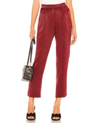 House of Harlow 1960 - X Revolve Vincent Pant In Red - Lyst