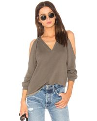 Lanston - Cold Shoulder Sweatshirt - Lyst