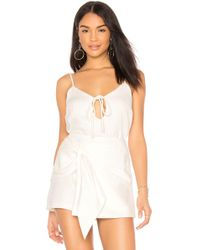 MINKPINK - Keyhole Cami In White - Lyst