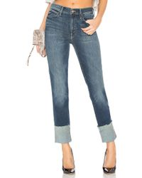 Mother | The Pony Boy Ankle Fray Jean | Lyst