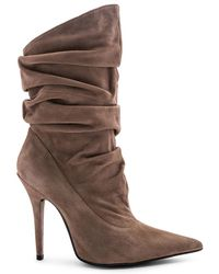 Jeffrey Campbell - Erotic Boot In Taupe - Lyst