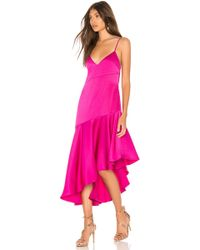 Misha Collection - Madelyn Dress In Fuchsia - Lyst