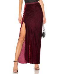 Nili Lotan - Maya Maxi Skirt - Lyst