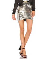 Line & Dot - Soleil Sequin Skirt - Lyst