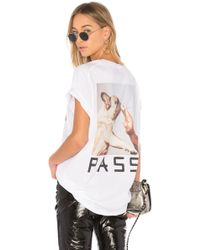 Baja East - Puff Puff Pass Tee In White - Lyst