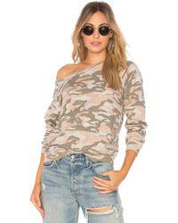 Monrow - Vintage Raglan Sweatshirt - Lyst