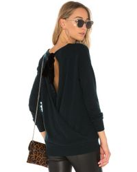 Autumn Cashmere - Crossover Back Sweater - Lyst