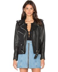 Urban Outfitters - X Revolve Easy Rider Moto Jacket In Black - Lyst
