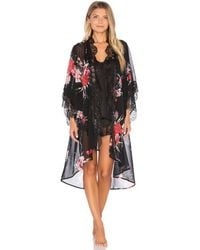 Band Of Gypsies - Vintage Floral Robe - Lyst