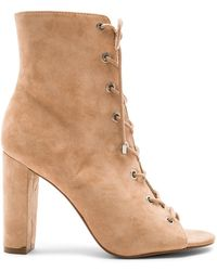 BCBGeneration - Ripley Lace Up Bootie - Lyst