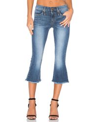 Calvin Rucker - Liv 4 Luv Cropped Flare Jean - Lyst