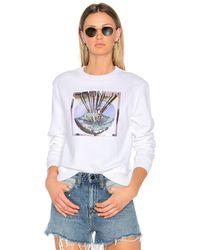 Carven - Graphic Sweatshirt - Lyst