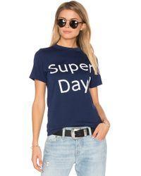 Daydream Nation - Super Day Tee - Lyst