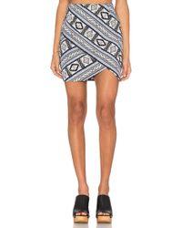 Fifteen Twenty | Double Angle Skirt | Lyst