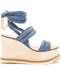Flamingos - Lily Wedge - Lyst