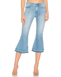 Frankie - High Rise Crop Flare - Lyst