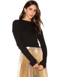 Frankie - Crop Sweater - Lyst