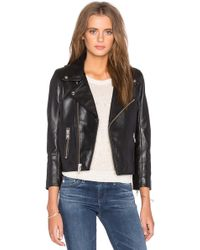 Women&39s Cropped Leather Jackets - Shop Now | Lyst™