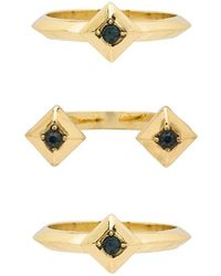 House of Harlow 1960 - The Lyra Ring Set - Lyst