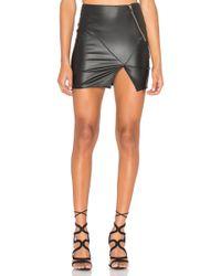 IKKS - Asymmetric Detail Skirt - Lyst