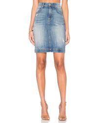 Level 99 - Jane High Rise Skirt - Lyst