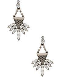 Lionette - Swarovski Crystal Stellan Earrings - Lyst