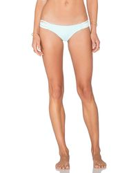 Lisa Lozano - Chevron Macrame Bikini Bottom - Lyst