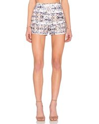 Lucca Couture - Mixed Kaleidoscope Short - Lyst
