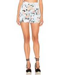Lucca Couture - Scalloped Fitted Short - Lyst