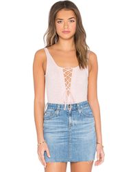 Lucca Couture - Lace Up Onesie - Lyst