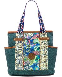 Maaji - Embroidered Canvas Beach Bag - Lyst
