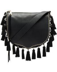 Multi Tassel Crossbody, Black Rebecca Minkoff