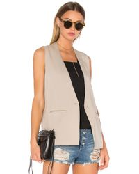 Sincerely Jules | Kate Sleeveless Blazer | Lyst