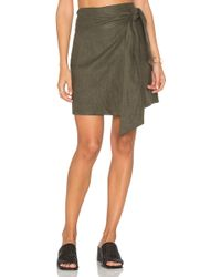 Sir. The Label - Cheyne Wrap Skirt - Lyst