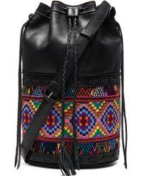 Stela 9 - Large Vintage Quixote Leather Bucket Bag - Lyst