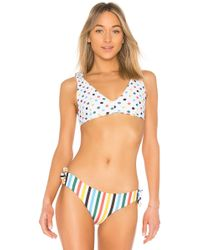 de1fa518c2 Lyst - Rip Curl Surforama Bralette Bikini Top in Blue