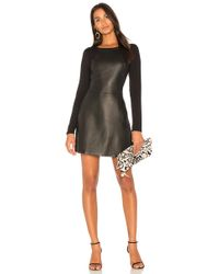 Michael Stars - Leather Mini Dress - Lyst