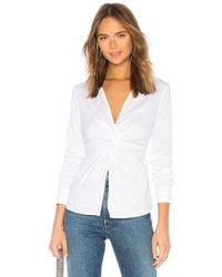 Bailey 44 - Tallula Twist Front Shirt - Lyst