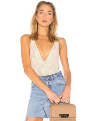 Lovers + Friends - Wyatt Bodysuit In White - Lyst