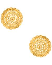 Haati Chai - Lara Earring In Metallic Gold. - Lyst