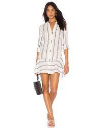 ViX - Steph Chemise Dress In White - Lyst