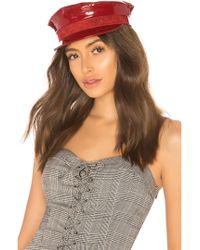 Don - Sailor Cap In Red - Lyst