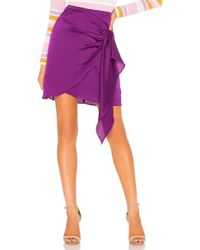 Keepsake - Infinity Skirt In Grape In Purple - Lyst