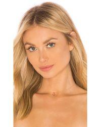 Natalie B. Jewelry - Stone Drop Choker - Lyst