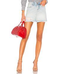 FRAME - Rigid Re Release Le High Mini Skirt - Lyst