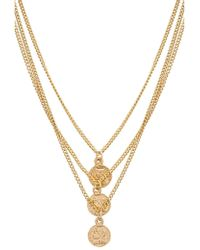 Joolz by Martha Calvo - Triple Tribute Coin Necklace - Lyst