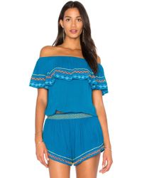 Piper - Byron Strapless Top - Lyst