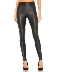 Alice + Olivia - Maddox Leather Legging - Lyst