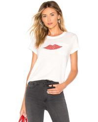 Rag & Bone - Lips Tee - Lyst